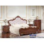 Кровать двуспальная Тоскана (орех итальянский) 180х200см Акорд