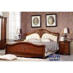 Кровать двуспальная CF 8670 160х200см орех Акорд