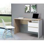 Комп'ютерний стіл Paco 3 (Пако 3) дуб артисан, білий