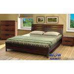 Кровать двуспальная Аурель Марита 180х200(190)см