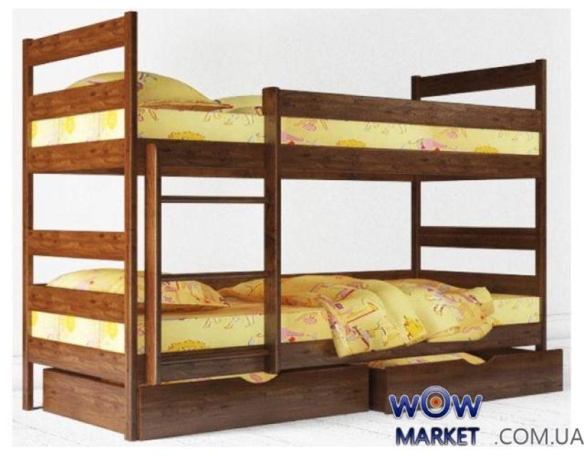 Кровать двухъярусная Аурель Ясная 90х200см