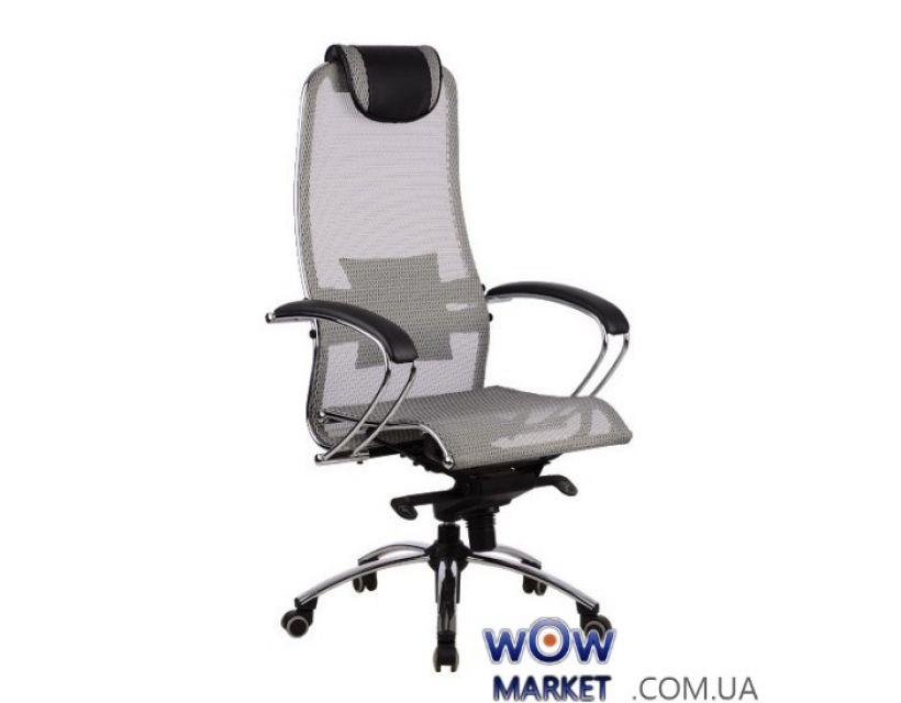 Кресло компьютерное Samurai S1 Grey (Самурай)