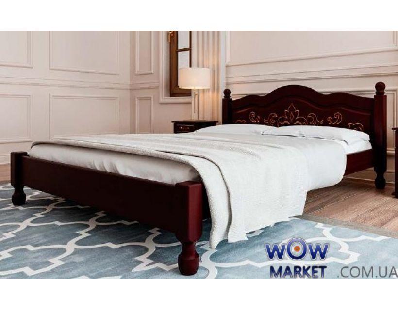 Ліжко полуторне Магнолія 140х200 (190) см ДревКомбінат