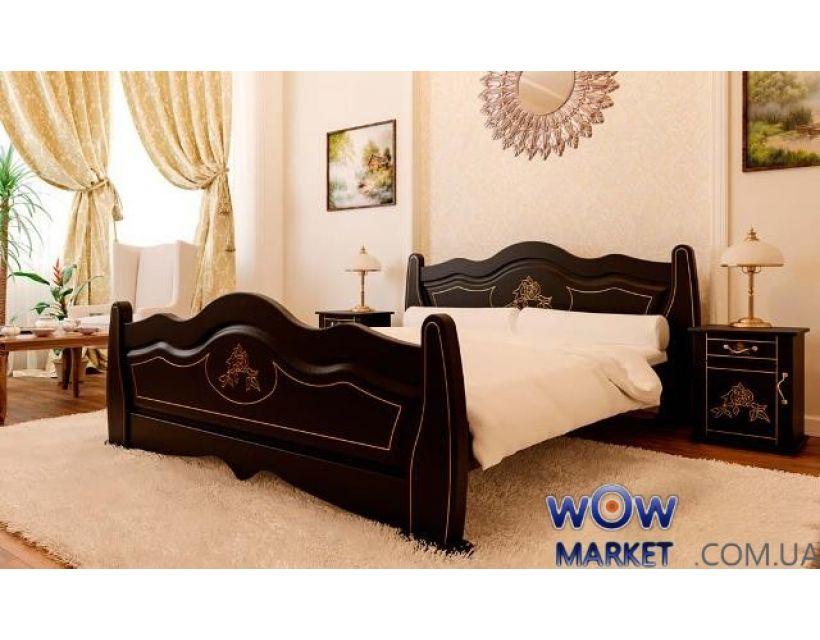 Ліжко двоспальне Мальва 160х200 (190) см ДревКомбінат