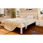 Ліжко двоспальне Модерн М з м'яким узголів'ям 180х200 (190) см ДревКомбінат