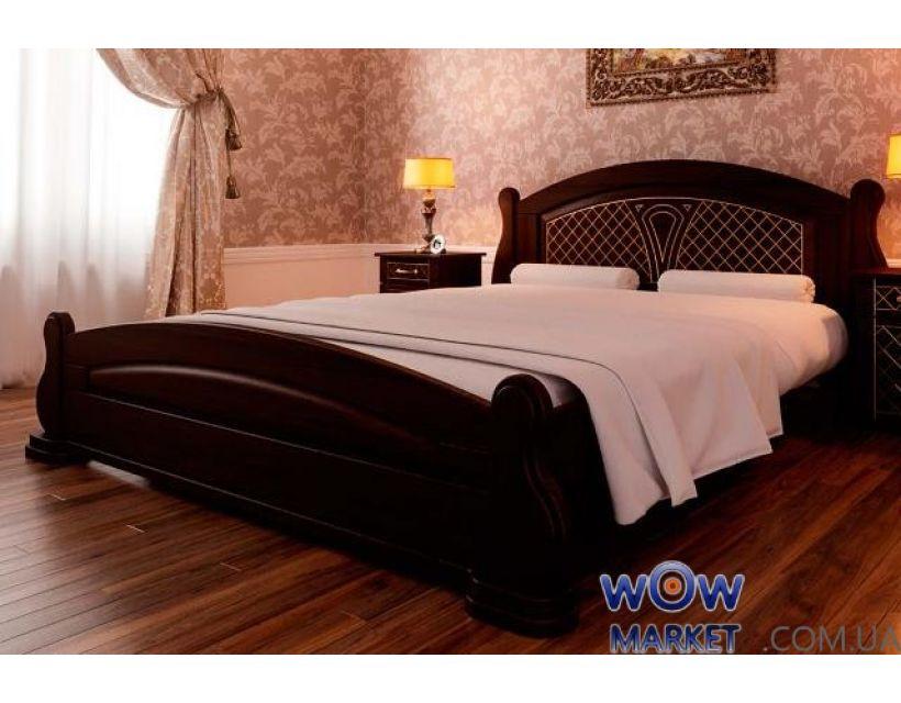 Кровать двуспальная Женева 160х200 (190) см ДревКомбинат