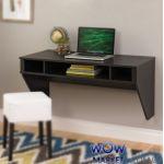 Навісний комп'ютерний стіл ZEUS AirTable-II Mini (венге)