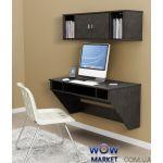 Навісний комп'ютерний стіл ZEUS (Зевс) AirTable-II Kit (венге)