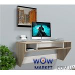 Навесной компьютерный стол ZEUS (Зевс) AirTable-II Mini SW (санома) Escado (Эскадо)