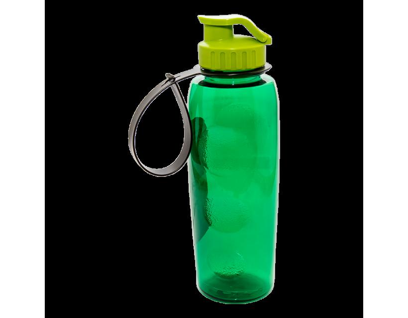 Пляшка для води 0,7 л зелена