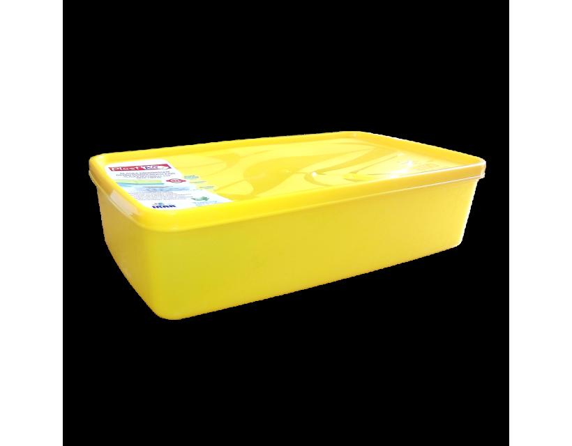 Бокс для морозильної камери 2,1 л прямокутний Alaska жовтий