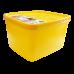 Бокс для морозильної камери 1,2 л глибокий Alaska жовтий