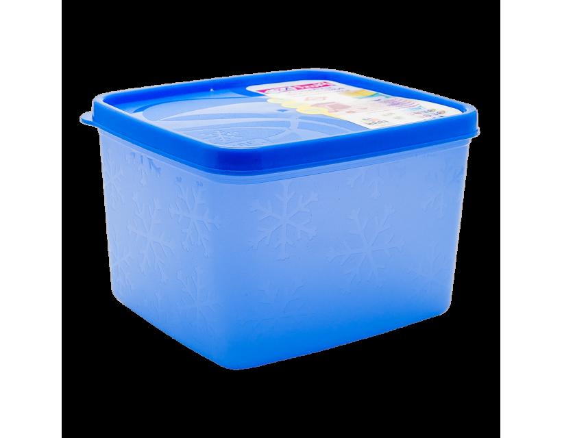 Бокс для морозильної камери 1,2 л глибокий Alaska синій