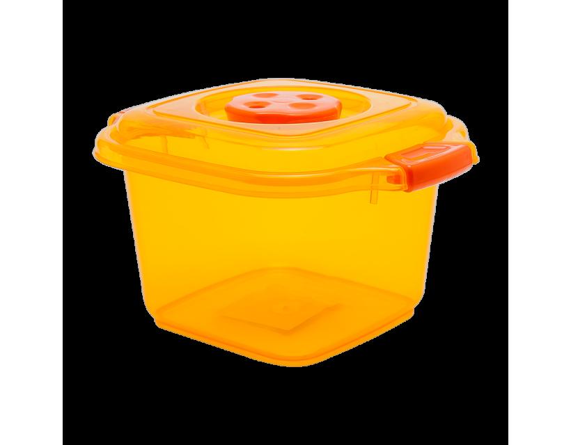 Бокс пищевой 0,5 л мини оранжевый