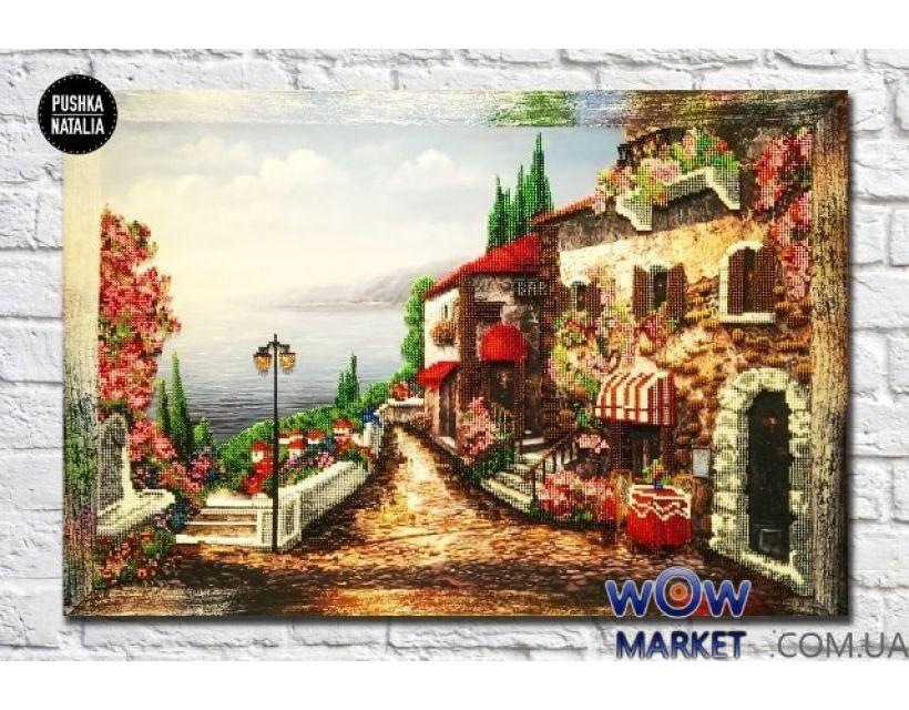 Картина вышитая бисером Прованс от Пушки Натальи