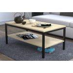 Журнальний стіл Loft Design L-1, Дуб Борас світлий