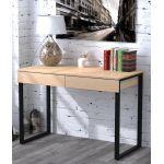Письмовий стіл Loft Design L-11 дуб борас, ніжки чорні