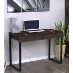 Письмовий стіл Loft Design L-11 венге корсика, ніжки чорні