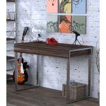 Письмовий стіл Loft Design L-11 горіх модена, ніжки хром