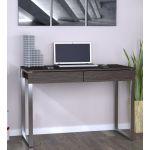 Письмовий стіл Loft Design L-11 венге корсика, ніжки хром