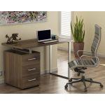 Письмовий стіл Loft Design L-27 горіх модена