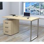 Письмовий стіл Loft Design L-27 Макс дуб борас