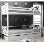 Дитяче двоярусне ліжко Ліана з ящиками