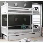 Дитяче двоярусне ліжко Хатіко з ящиками