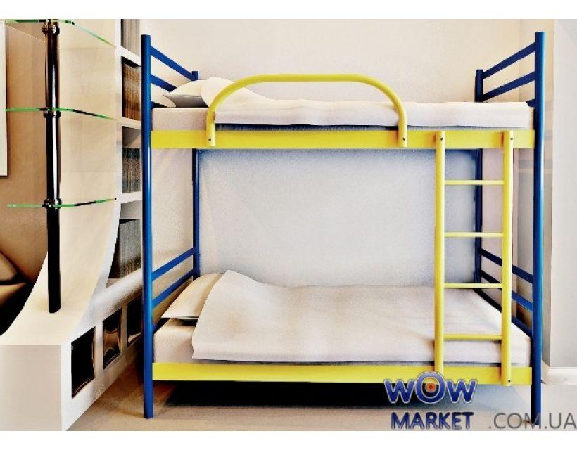 Кровать двухъярусная Fly Duo (Флай Дуо) 200 (190) x 80 см Метакам