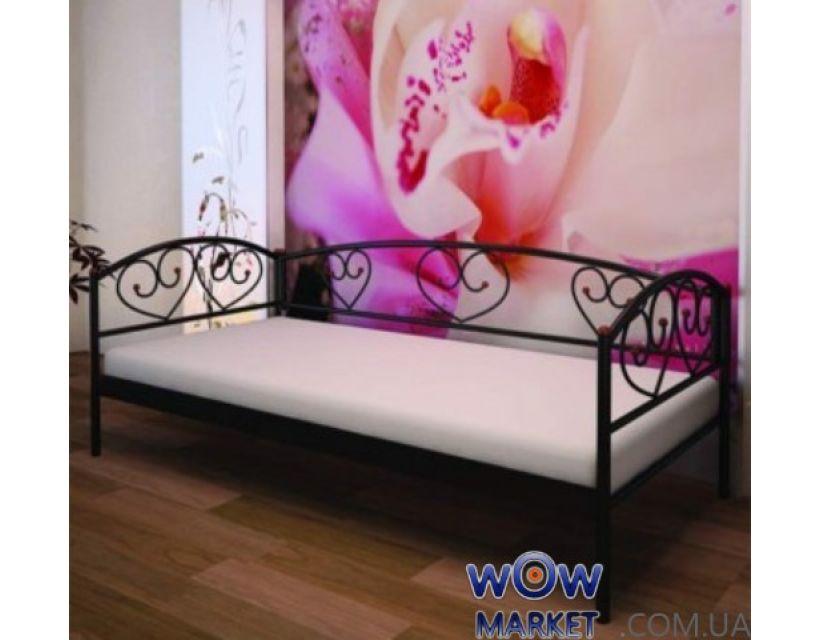 Кровать металлическая Дарина Люкс (Darina Lux) 200(190)X90 Метакам
