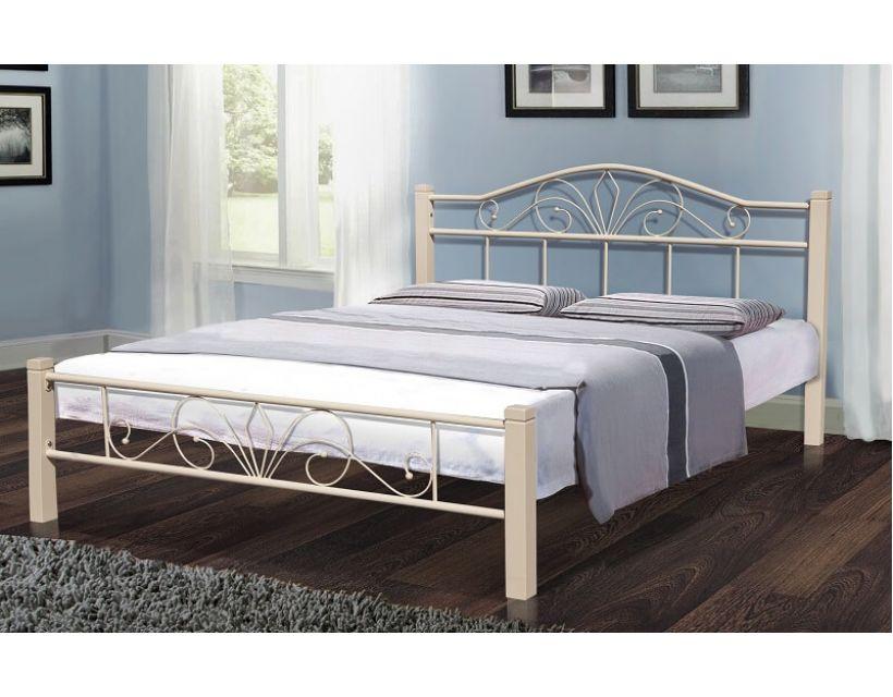 Ліжко Релакс Вуд 160*200 см, бежевий Мікс Меблі Iron Line