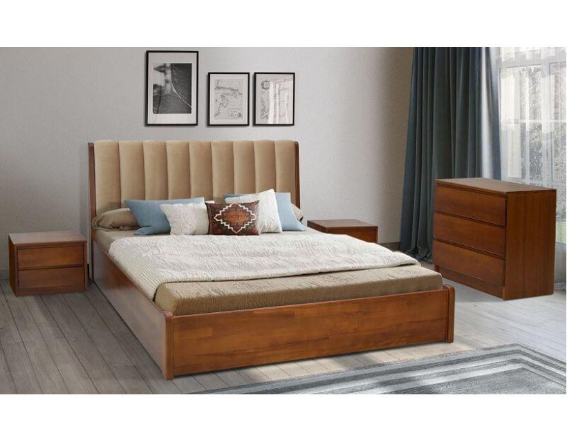 Ліжко Каліфорнія з підйомним механізмом Кантрі Мікс Меблі