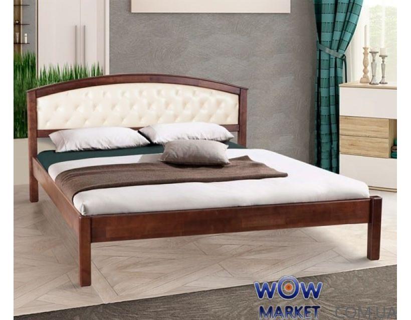 Кровать двуспальная Джульета мягкая 160х200см Микс-Мебель Элегант
