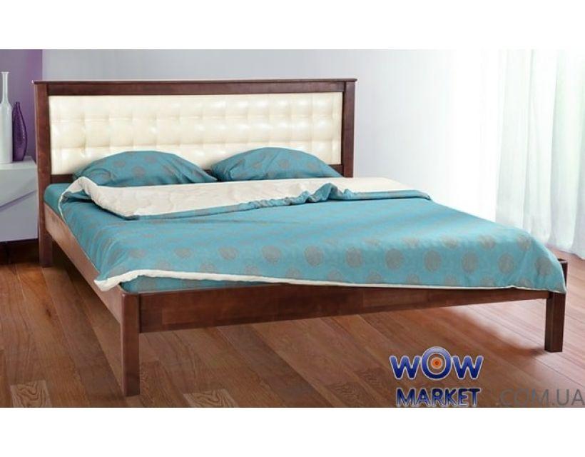 Кровать полуторная Карина мягкая 140х200см Элегант Микс-Мебель
