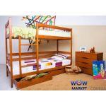 Ліжко двоярусне Дісней 80х200см Мікс-Меблі Марія
