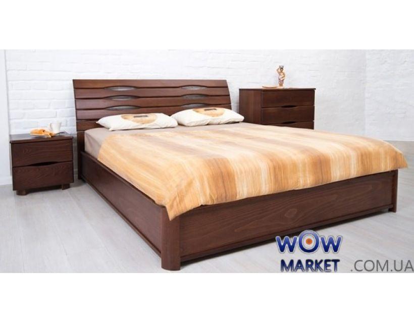 Ліжко двоспальне Марія 180х200см з підйомним механізмом Мікс-Меблі