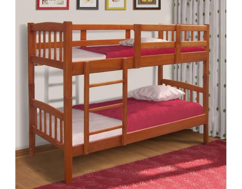 Ліжко двоярусне Бай-Бай (Сосна) 80х200см Мікс Меблі Уют