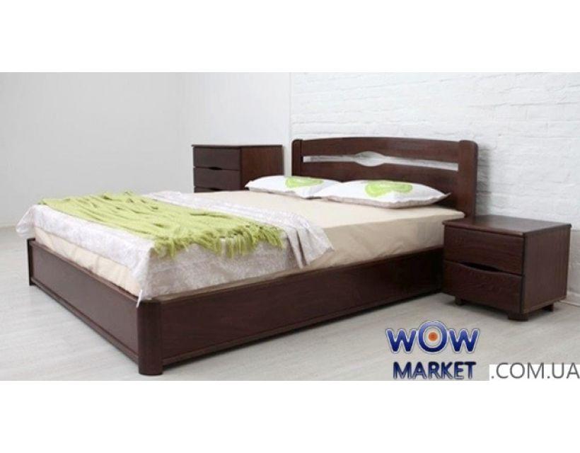 Ліжко двоспальне Кароліна 160х200см з підйомним механізмом Мікс-Меблі Марія