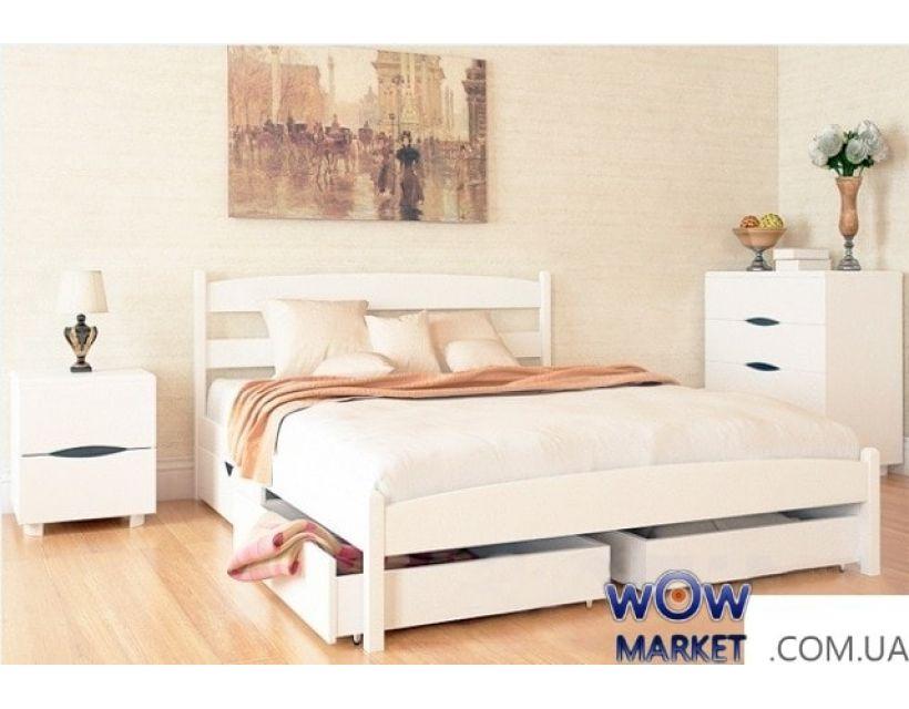 Ліжко двоспальне Ликерія 180х200см без узніжжя Мікс-Меблі Марія