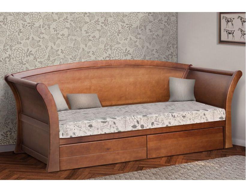 Ліжко Адріатіка з ящиками 80 (90) * 190 см Прайм