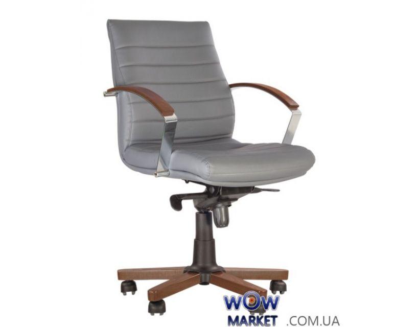 Кресло руководителя Iris (Ирис) wood LB MPD EX4 Новый Стиль