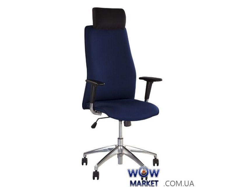 Крісло керівника Solo R HR steel SL AL33 (Соло) Новий Стиль