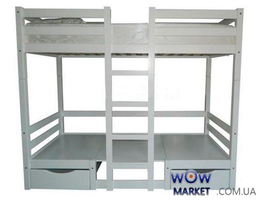 Кровать двухъярусная Л-304 90х190(200)см Скиф
