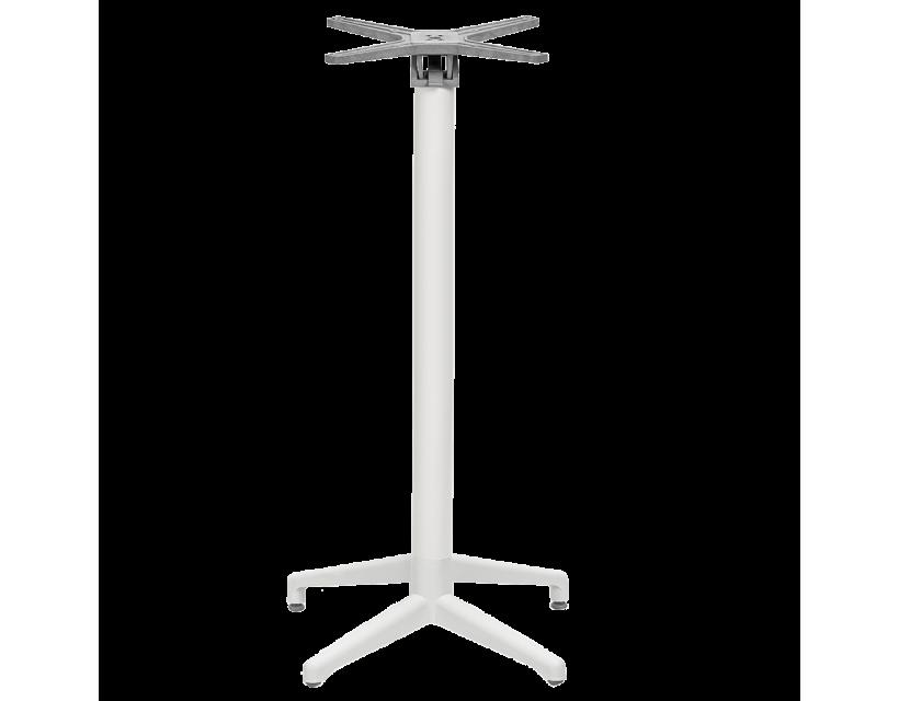 База стола барного для откидной столешницы Tilia Moon белая слоновая кость