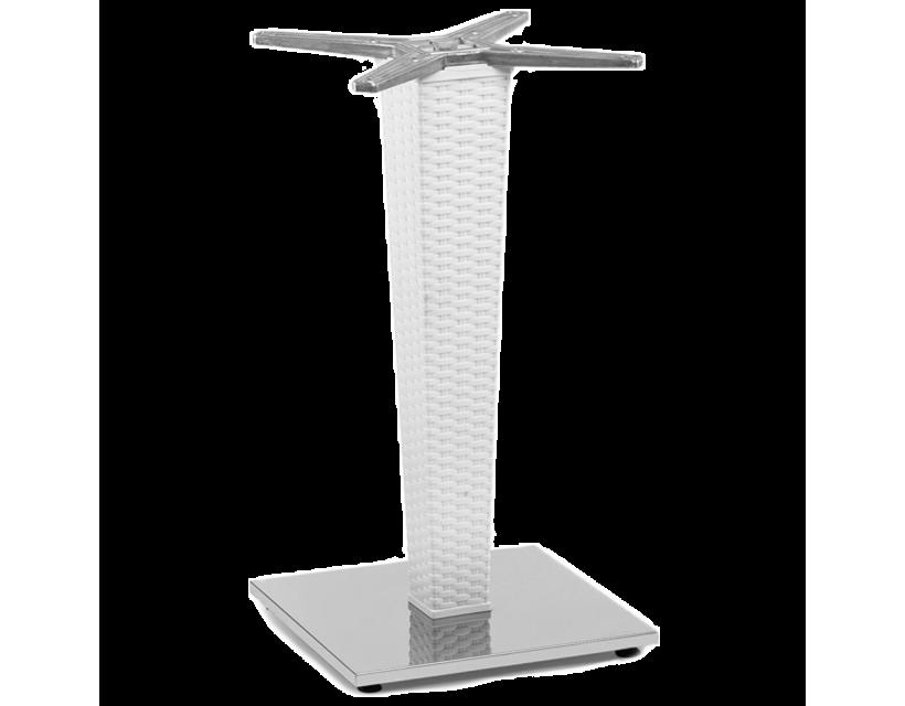 База столу Tilia Antares Single біла слонова кістка
