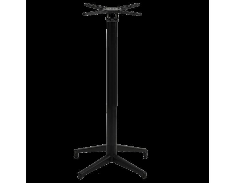 База столу барного для відкидний стільниці Tilia Moon чорна