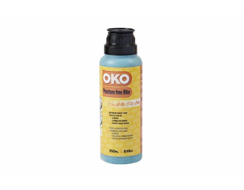 Антипрокольная жидкость OKO Puncture Free Bike для покрышек с камерами 250ml