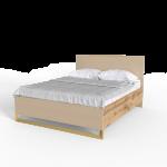 Кровать 1,6 Swan Art In Head каталонский желтый