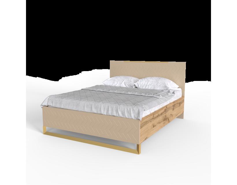 Ліжко 1,6 Swan Art In Head каталонський жовтий