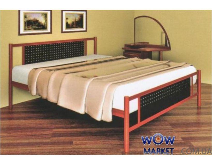 Кровать металлическая Fly new (Флай нью) 200(190)x180 без изножья Метакам